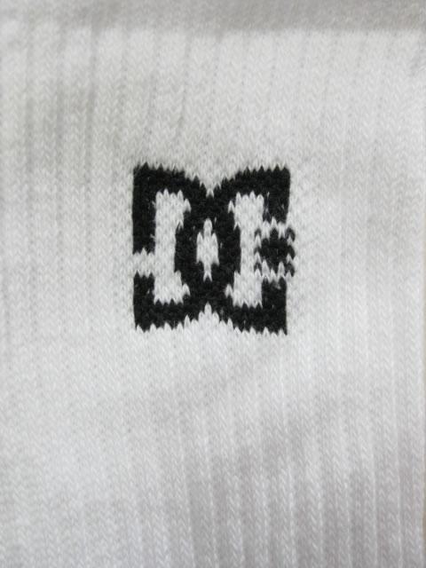 (大きいサイズ)DC(ディーシー)「DC CREW5」5Pソックス